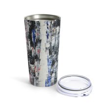 TUMBLER Black and White Abstract 20 oz Travel Mug