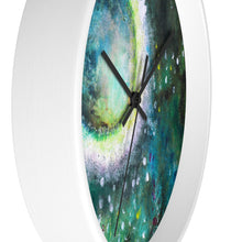 Moon WALL CLOCK Artsy Style from Original Art Painting