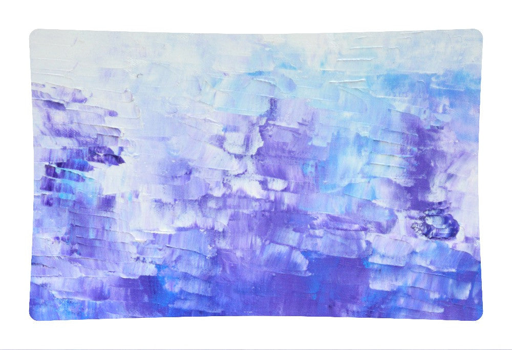 Abstract Indigo Blue Pillow Sham