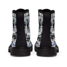 Street Style BOOTS for Women Girls Black and White Edgy