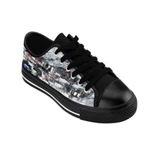 Black and White Abstract Street Style SNEAKERS for Women