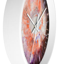 Artsy WALL CLOCK multicolored abstract art