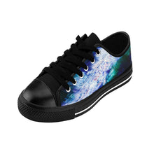 Unique Abstract Art SNEAKERS for Women Blue