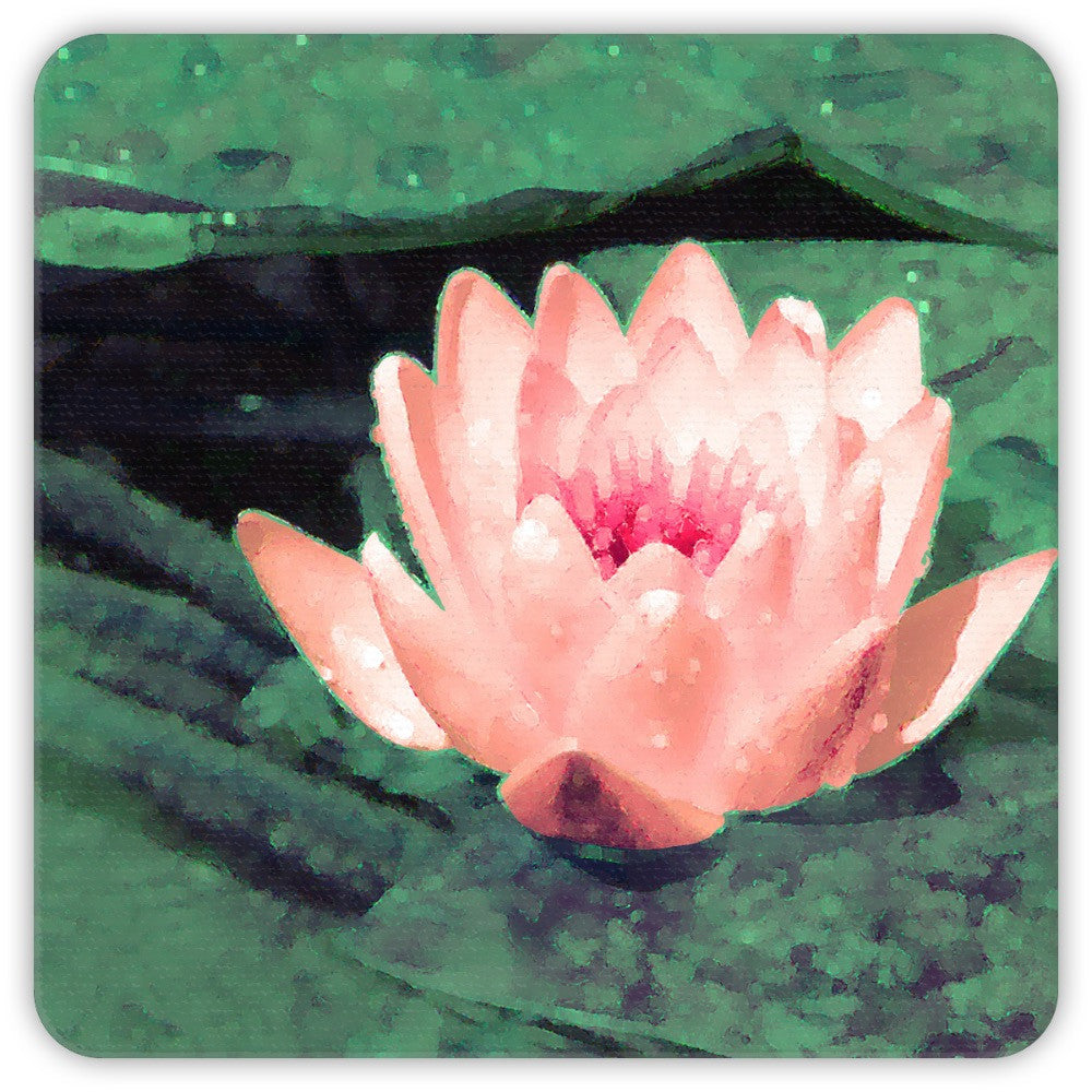 Lotus Flower Coasters
