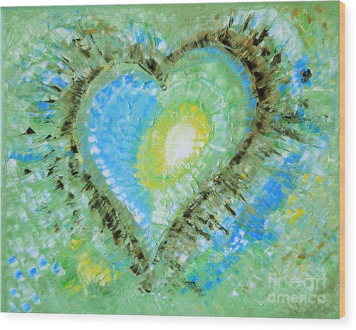 Eternal Love - Wood Print #1024