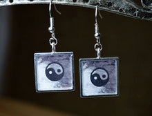 YING YANG Symbol Earrings, Inspirational Jewelry Gifts, Zen, Balance, Yoga