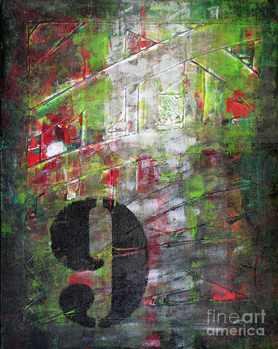 LUCKY NUMBER 9 - Art Print #1059