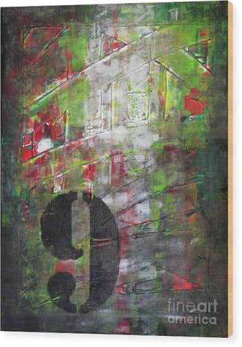 LUCKY NUMBER  9 - Wood Print #1059