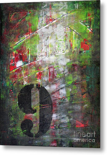 LUCKY NUMBER 9 - Metal Print #1059