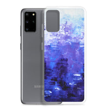 Blue PHONE CASE COVER for Galaxy Phones Unique Abstract Style