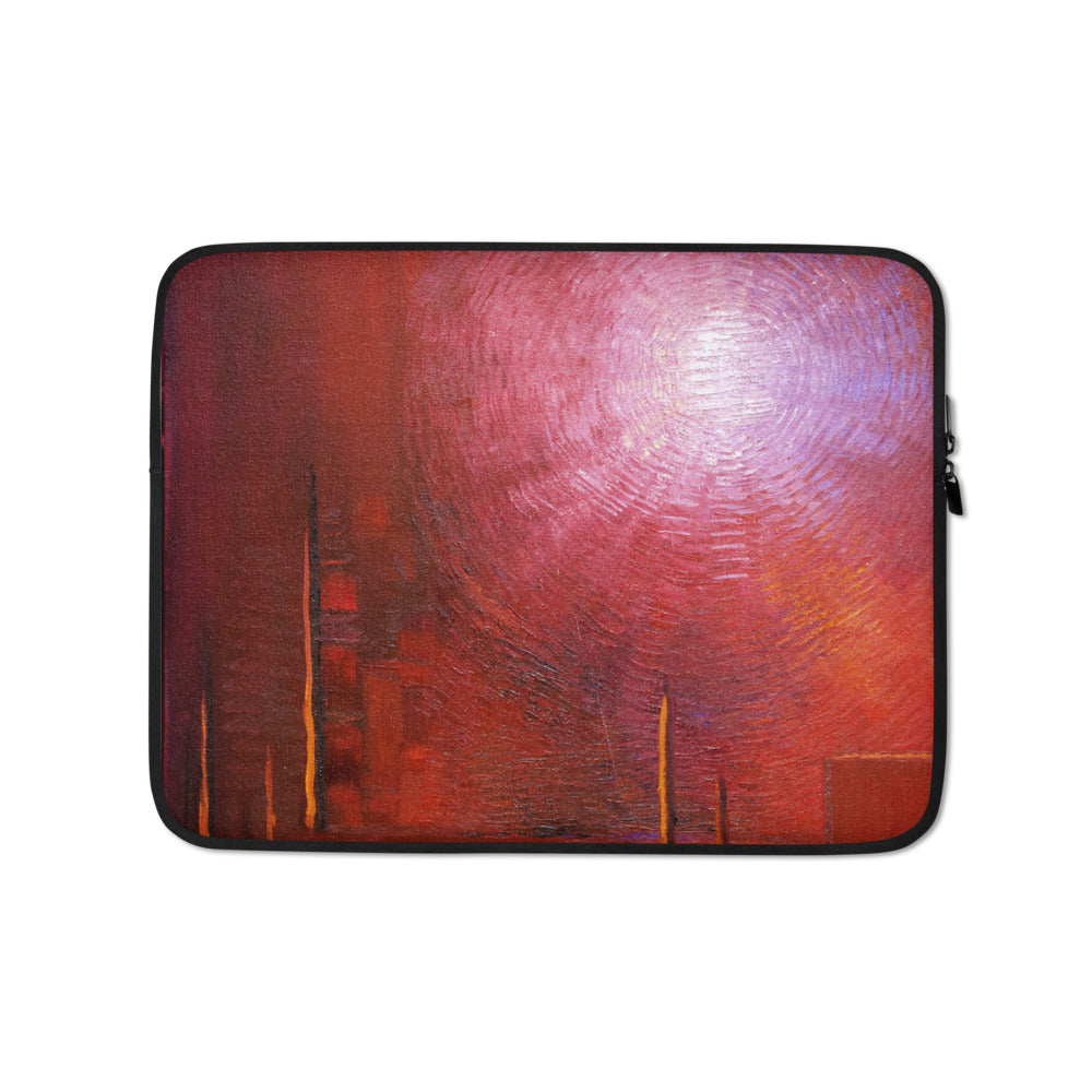 Bold Red LAPTOP SLEEVE Pouch Cover Accessory for laptops