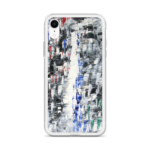 Black and White IPHONE CASE Cool Abstract Art Style