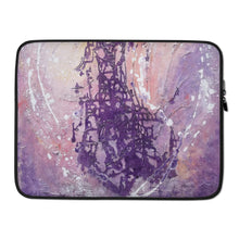 Purple Pastel Multicolored LAPTOP SLEEVE Cover for Laptops