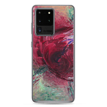 Red Rose PHONE CASE for Samsung Galaxy Phones Abstract Modern Art Style