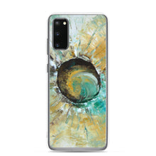 Galaxy PHONE CASE in Neutral Colors Abstract Art Style