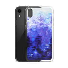 Cool Indigo Blue Abstract IPHONE COVER/CASE Unique Design