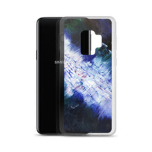 Artsy Samsung PHONE CASE Navy Blue White Abstract