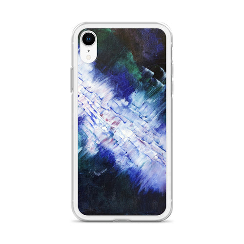 Artsy Apple IPHONE CASE Abstract Energetic Art Print
