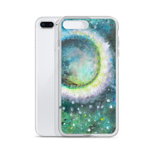 Beautiful Moon IPHONE CASE Green Art Painting