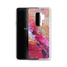 Samsung Galaxy PHONE CASE Colorful Artsy Heart Art Style
