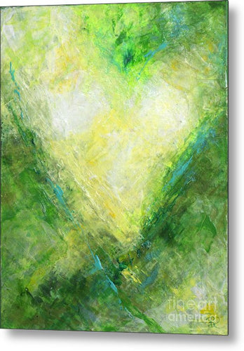 OPEN HEART - Metal Print #1068