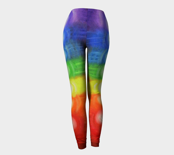 7 CHAKRAS - Leggings Rainbow Colors 1034