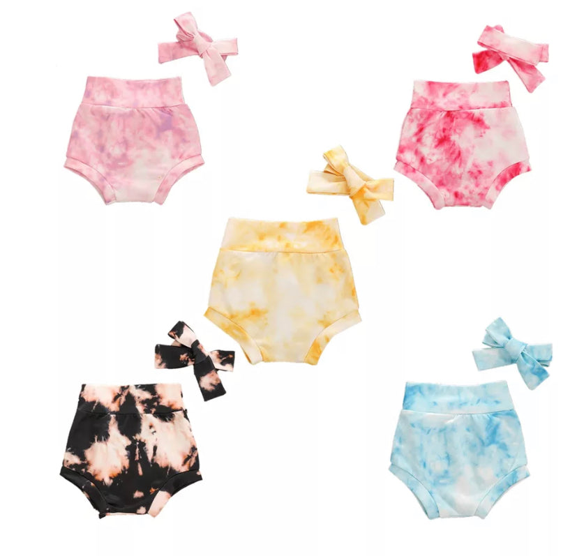 Tie-Dye Bloomers - 5 Colours