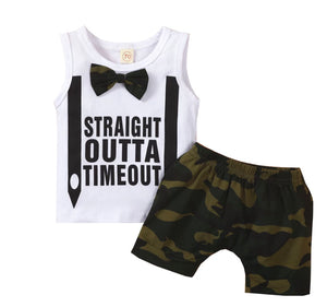 Straight Outta Timeout Camo Set