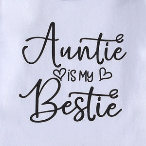 Auntie Is My Bestie Bloomer Set