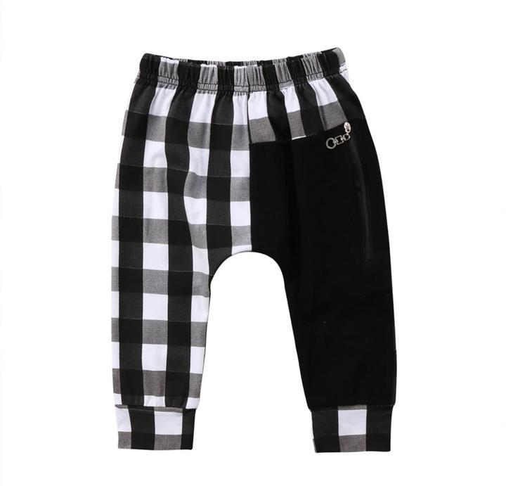 Black Plaid Harems