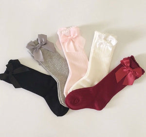 Toddler Bow Socks