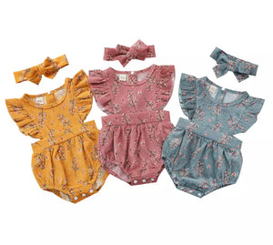Cassandra Romper - 3 Colours