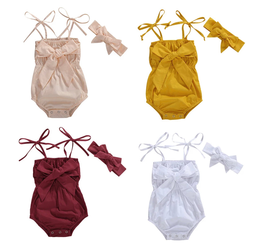 Madelyn Romper - 4 Colours