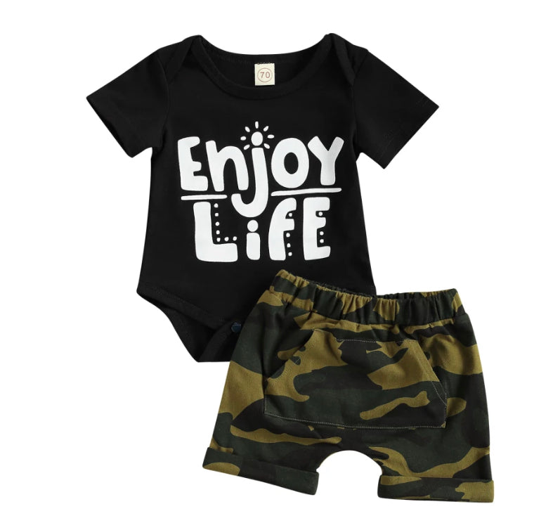 Enjoy Life Camo Set