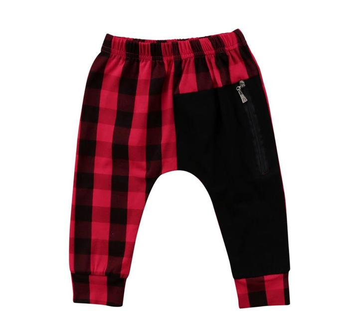 Red Plaid Harems