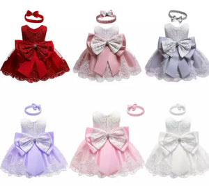 Christening/Flower Girl Dresses - 6 Colours
