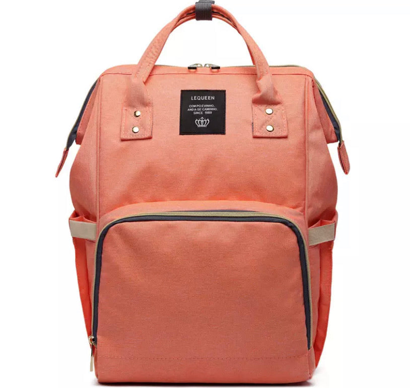 Nappy Bag - Orange