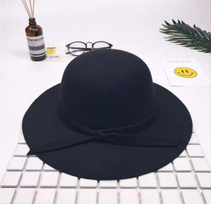 Bow Hat - Black
