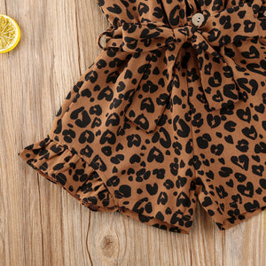 Leopard Print Jumpsuit - 4 Colours