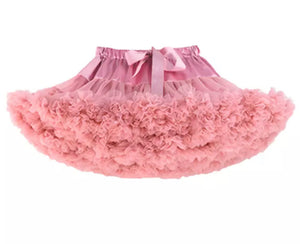 Ballerina Pettiskirt - Dusty Rose
