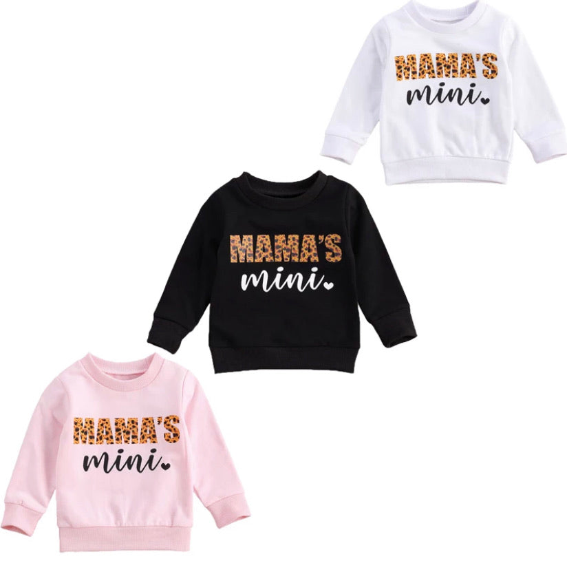 Mama's Mini Sweatshirt - 3 Colours
