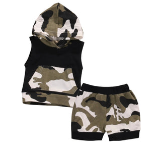 Camo Sleeveless Set
