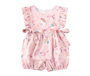 Unicorn & Rainbows Romper