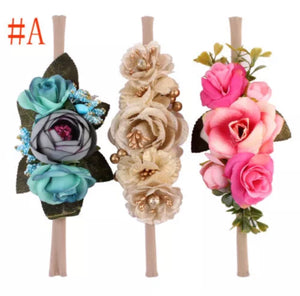 Floral headband 3 Pack