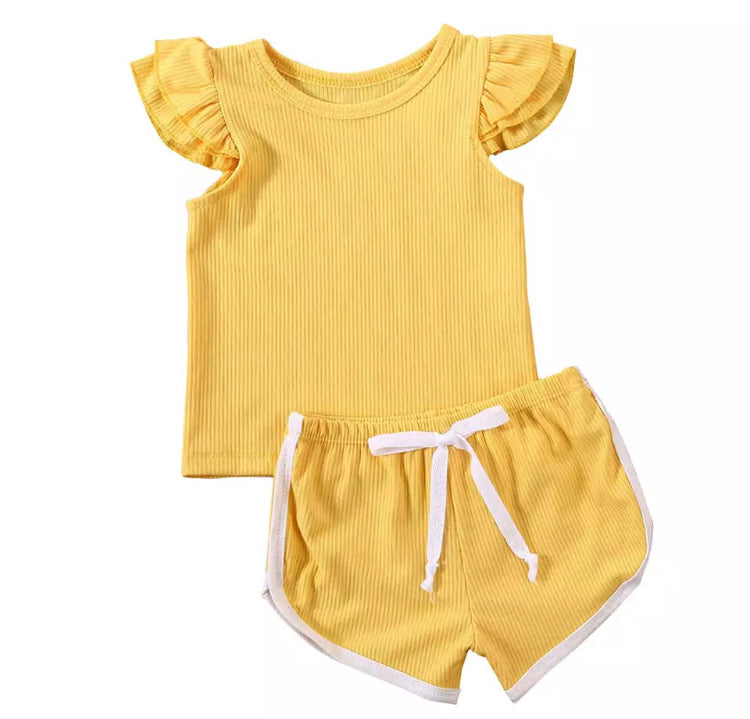 Natasha Set - Yellow