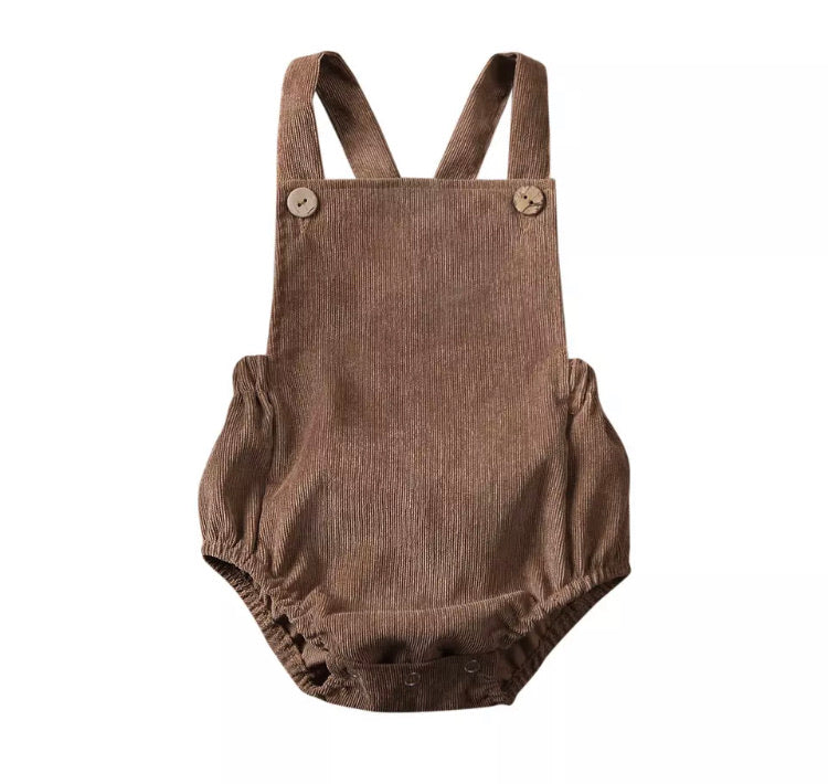 Charley Romper - Brown