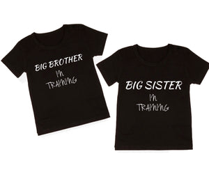 Big Brother/Sister In Training Tee