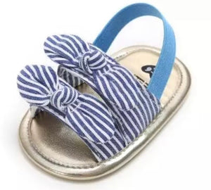 Sophie Blue Stripes Prewalkers