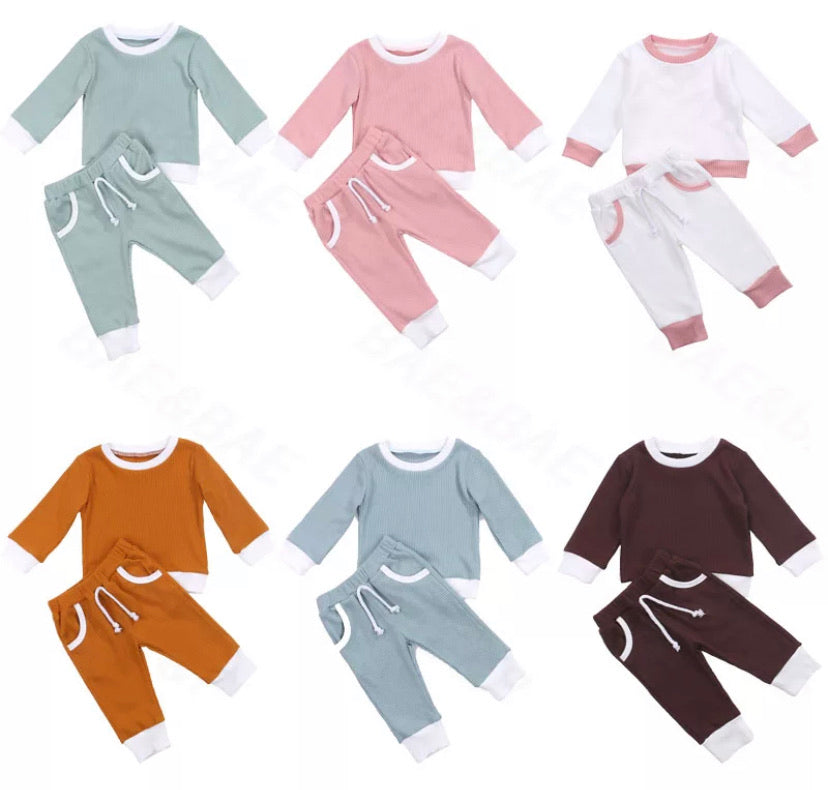 Ribbed Tracksuit - 6 Colours