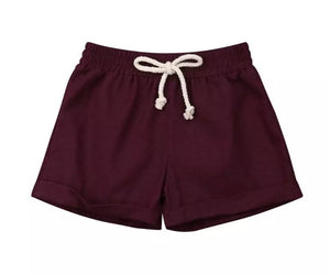 Shorties - Maroon